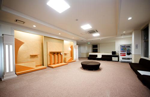 2階ロビーホール